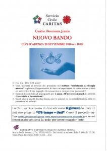 Servizio Civile Caritas Jesi Bando 2018 (1)